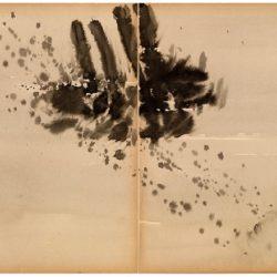 曾海文,No. 189,1970-1973,水墨/紙,70 x 50 cm/ each, set of 2